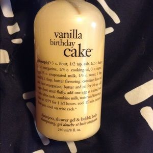 Philosophy vanilla cake body wash